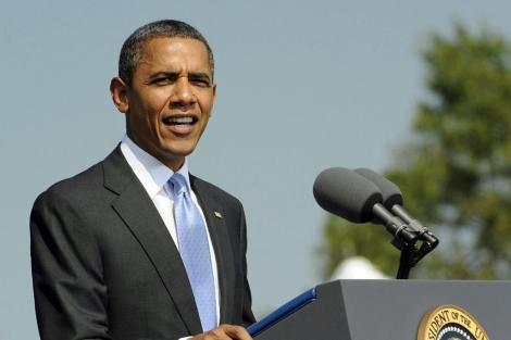 El presidente de EEUU, Barack Obama, durante un discurso en Virginia. | Efe