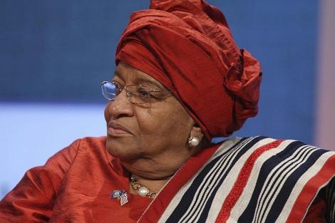 La presidenta de Liberia y Nobel de la Paz, Ellen Johson-Sirleaf. | Efe