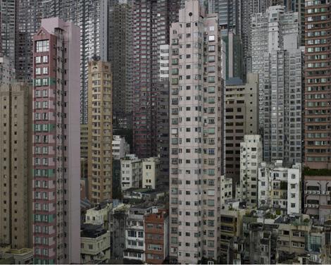 Edificios en Hong Kong. | Michael Wolf / Prix Pictet