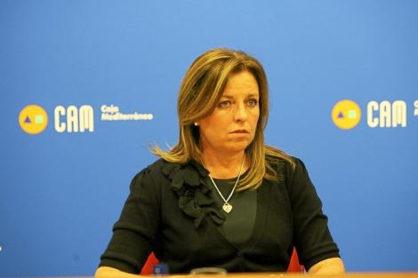 La ex directora general de la CAM, en una imagen de archivo. | E.Caparrós