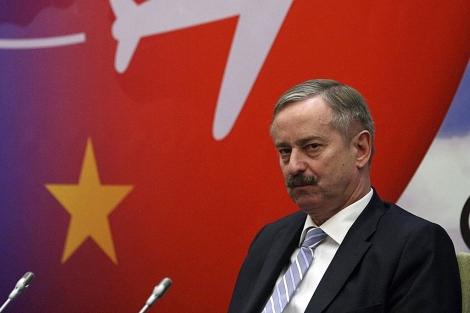 El comisario europeo de Transportes, Siim Kallas. | Efe