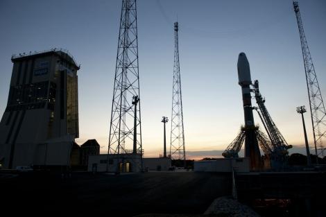 Los dos primeros satélites de Galileo viajarán a bordo de un cohete Soyuz. | ESA