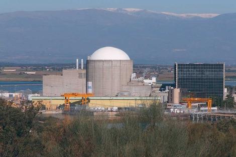 Imagen de la central nuclear de Almaraz. | David Vigario