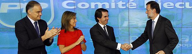 González Pons, Ana Mato y Aznar, en el Comité Ejecutivo Nacional. | Alberto Cuéllar