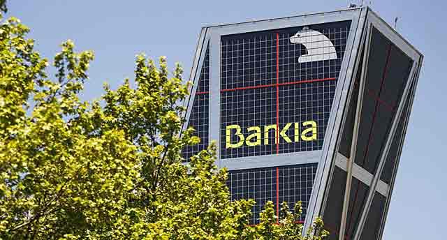 Sede de Bankia en las torres KIO de la madrileña Plaza de Castilla. | Reuters