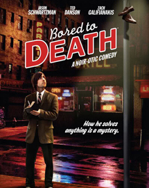 Cartel de 'Bored to Death'