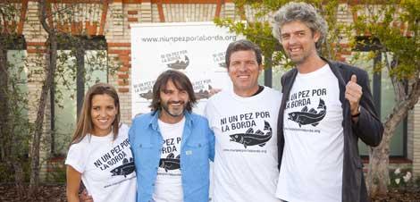 Ana Fernández, Fernando Tejero, Mario Picazo y Will Anderson. | Carlos Alba/KEO Films.