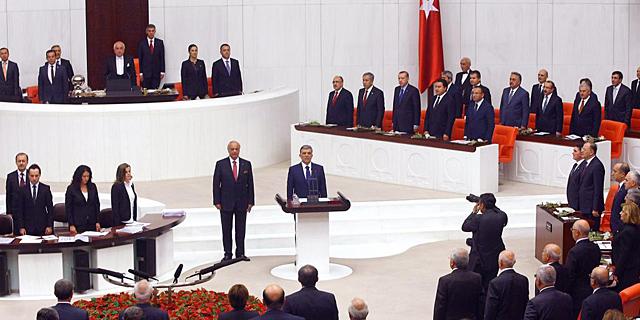 Sesión en el Parlamento de Turquía. | Afp