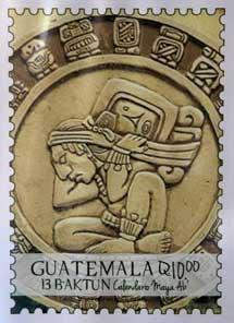 Un sello de Guatemala. | Efe