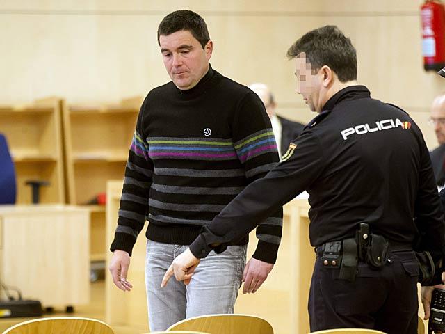 Aitor Esnaola durante el juicio en la Audiencia Nacional, hace unos días .   C. Moya / Efe