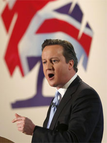 David Cameron. | Afp