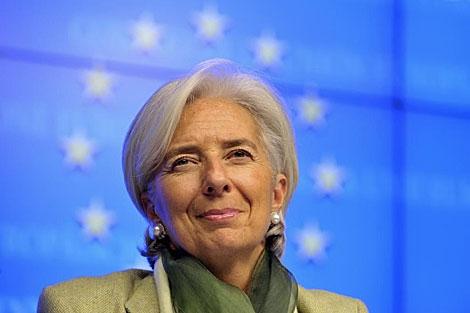 Christine Lagarde, en una imagen de esta semana. | Reuters