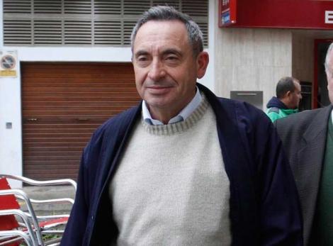 Pere Barceló el pasado febrero cuando acudió a declarar a los Juzgados. | Jordi Avellà