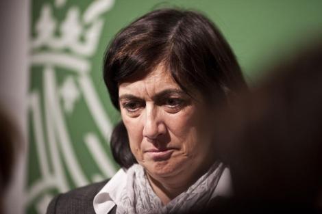 Marisa Gracia, ex gerente de Ferrocarrils de la Generalitat. | Vicent Bosch