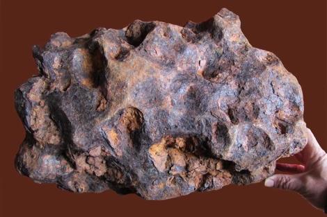 El meteorito encontrado en la provincia de Ciudad Real. | IGEO-IGME