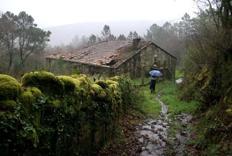Así se encuentra Arufe, en Pontevedra. | Rosa González