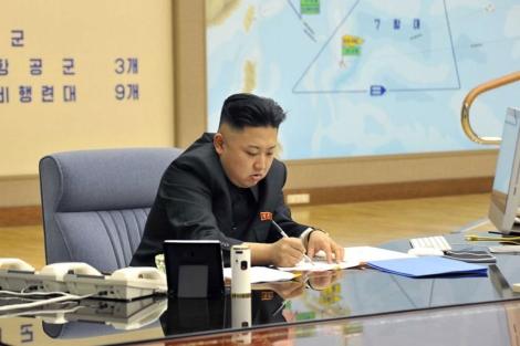 Kim Jong-un, en una imagen difundida el viernes. | Reuters