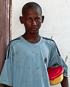 Issa, uno de los niños 'talibé'.| PLAN