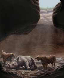 Recreación de una cueva.| Mauricio Antón