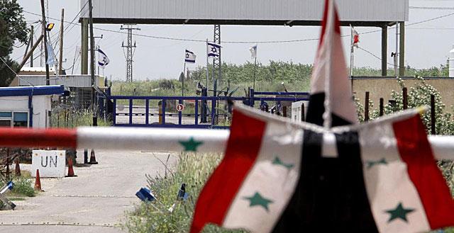El puesto fronterizo de Quneitra, visto desde el lado sirio en una imagen de 2011. | Afp