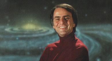 El astrónomo y presentador de 'Cosmos', Carl Sagan. | EM