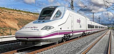 Un tren AVE en España. | El Mundo