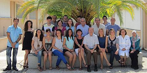 Miembros del equipo de investigación de la Universidad de Córdoba.