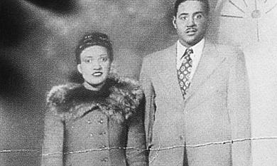 Una vieja fotografía de la señora Lacks con su marido.| Bill Denison