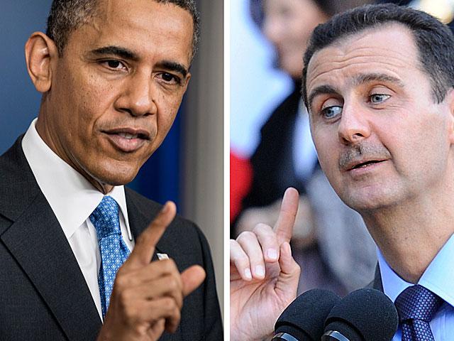 Los presidentes de EEUU, Barack Obama, y de Siria, Bachar Asad. | Efe