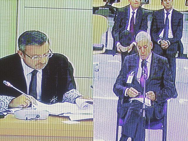 Declaración de Carlos Germán ante las preguntas del fiscal Carlos Bautista.