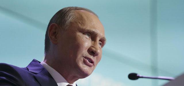 Vladimir Putin, durante su conferencia.| Reuters