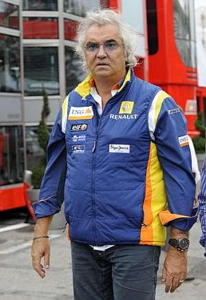 Flavio Briatore. (Foto: AFP)