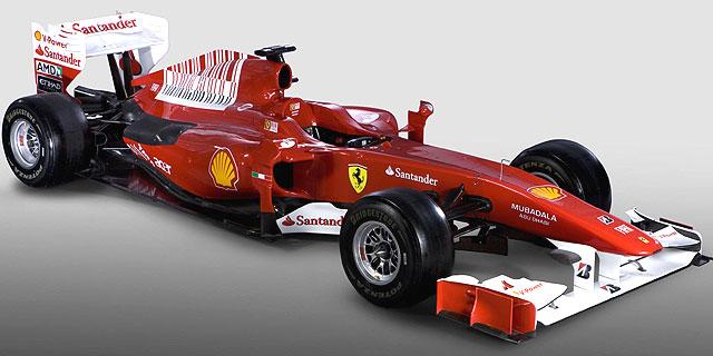 El nuevo 'F281', durante la presentación en Maranello. | Afp