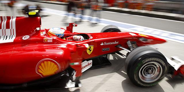 Fernando Alonso, en Shanghai. | Efe