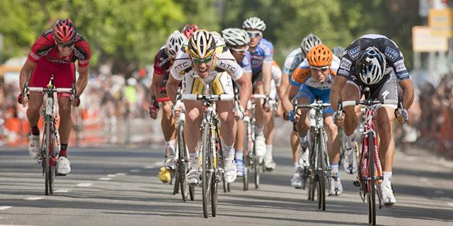 Cavendish domina el sprint de la primera etapa de la Vuelta a California. (Efe)