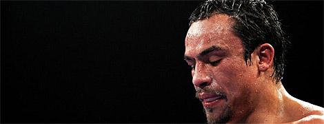Márquez, cabizbajo tras la pelea. | Ap