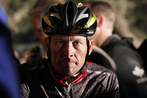 Armstrong, en una imagen de 2010. | Reuters