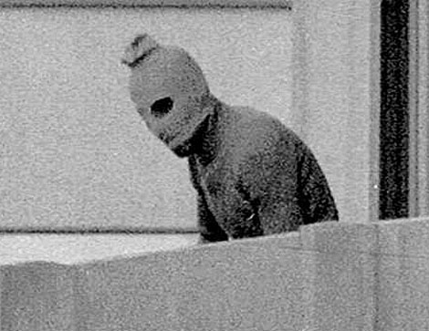 Imagen de uno de los terroristas de Munich'72.I AP