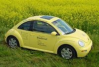El VW New Beetle, que funciona ya con biodiesel, reduce en un 90% las emisiones de CO2