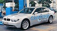 En BMW fueron de los primeros en apostar por el hidrógeno. En la imagen, el 745H.