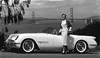 1953. El Corvette surge del prototipo EX122