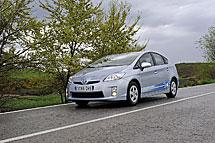 Conduciendo 20 kilómetros en modo eléctrico