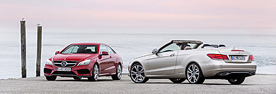 Mercedes Clase E: Coup y Cabrio