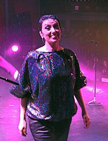 Luz Casal en concierto.   J. Aymá