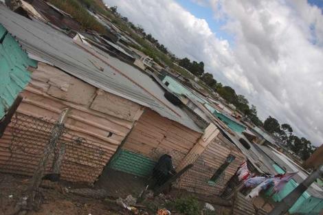El distrito de Khayelitsha, en Ciudad del Cabo.| Javier Brandoli