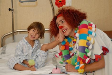 La risa también ayuda a los niños. | Fundación Theodora