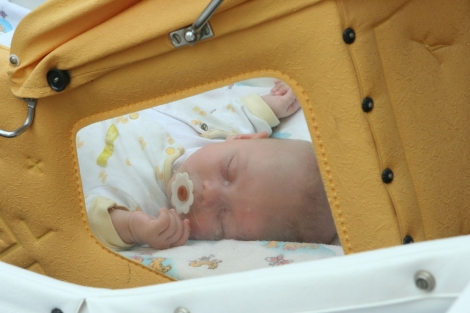 Un bebé con VIH en un orfanato de Ucrania.| I.F.L.