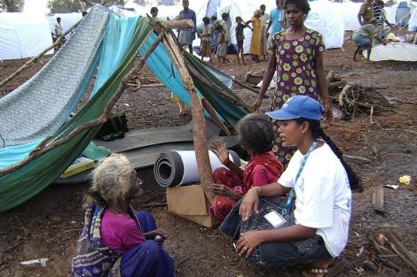 Campo de refugiados en Sri Lanka | ACNUR-UNHCR / B. Alaj