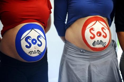 Embarazadas denuncian las altas tasas de mortalidad materna. | E. Lalmand
