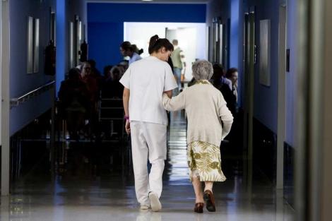 Residencia de ancianos en Bilbao. | Iñaki Andrés